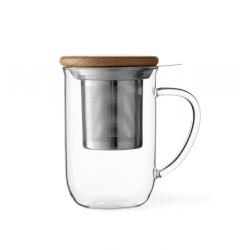 Cana ideala de ceai transparenta