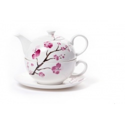 Set Cherry Tea For One