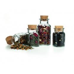 Borcan rotund sticla -  150 ml