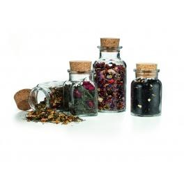 Borcan rotund sticla - 300 ml